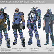 Infinity - PanOceania - Varuna Intervention Division Starter Pack - ArachNet.de