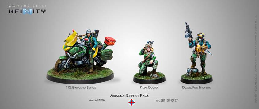 Infinity - Ariadna - Ariadna Support Pack - arachNET.de