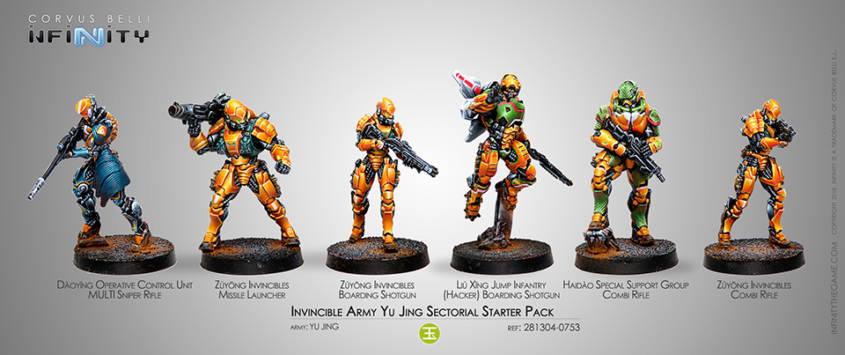 Infinity - Yu Jing - Invincible Army Starter Pack - arachNET.de