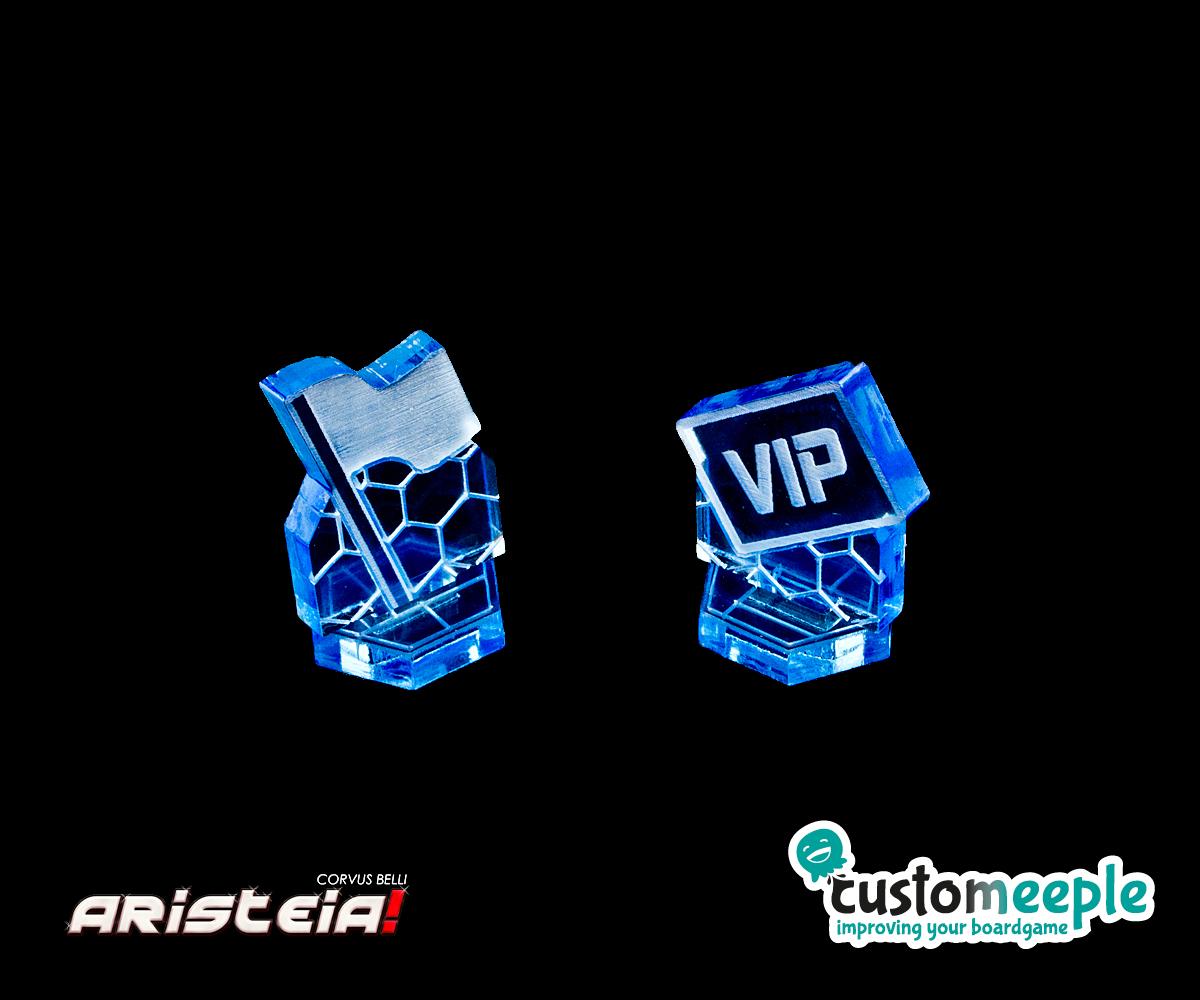 Aristeia - Customeeple - 3D Flag Token - arachNET.de