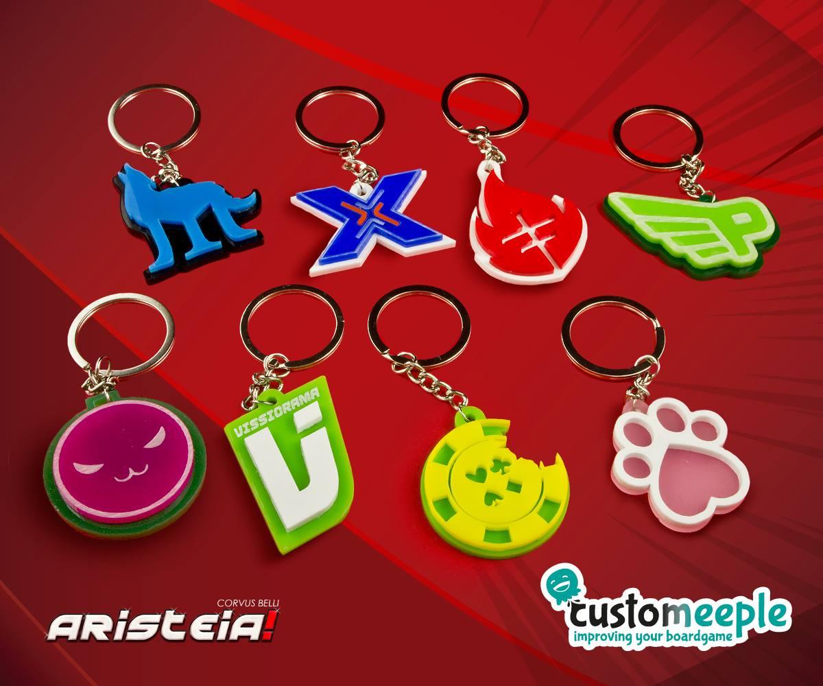 Aristeia - Customeeple - Characters Key Ring - arachNET.de