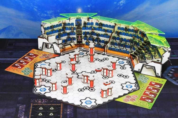 Aristeia - Battle Kiwi Hexadome - arachNET.de