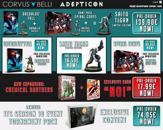 Infinity - Corvus Belli Adepticon 2019 Angebote - arachNET.de