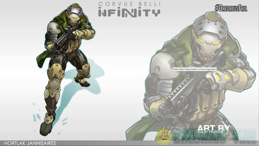 Infinity - Haqqislam - Hortlak Jannisaires Artwork - arachNET.de
