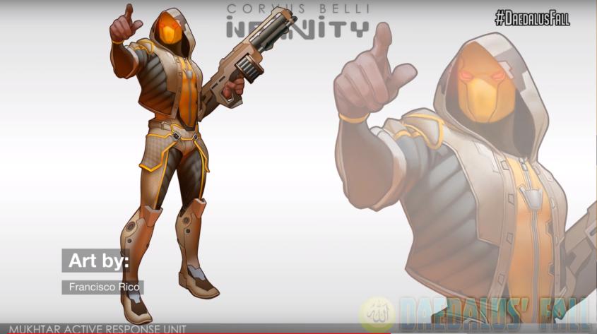 Infinity - Haqqislam - Mukhtar Active Response Unit Artwork - arachNET.de