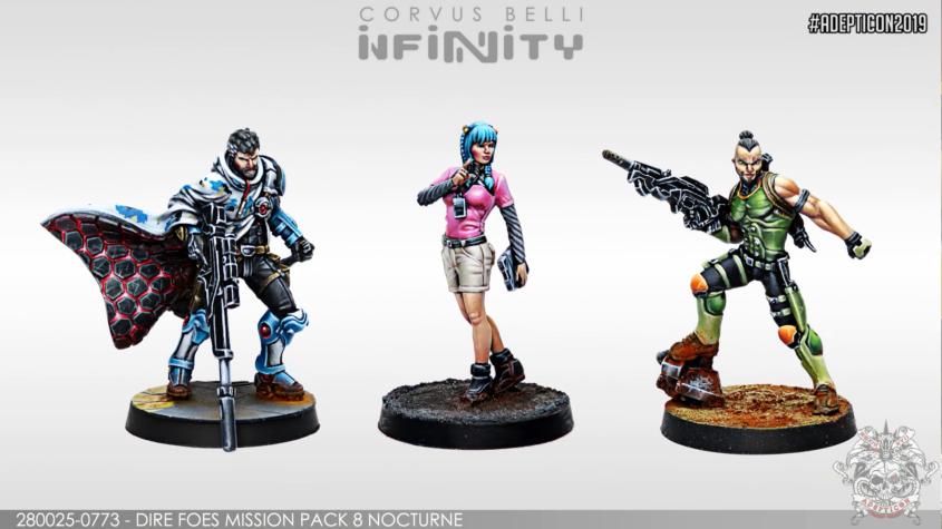 Infinity - Dire Foes 8 Nocturne - arachNET.de