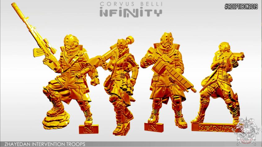 Infinity - Haqqislam - Zhayedan Intervention Troops - arachNET.de
