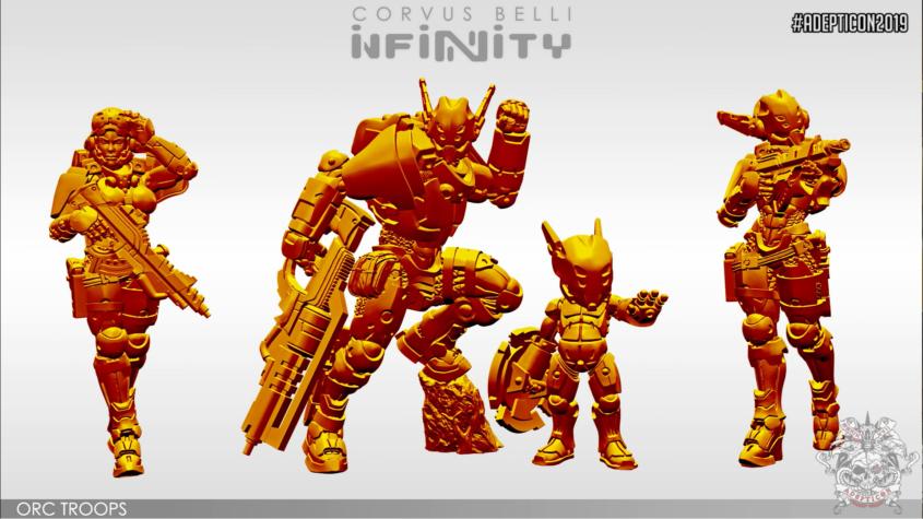 Infinity - PanOceania - Orc Troops - arachNET.de