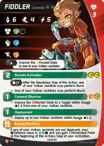 Aristeia - Fiddler - Character Card