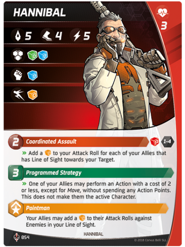 Aristeia - Hannibal - Character Card
