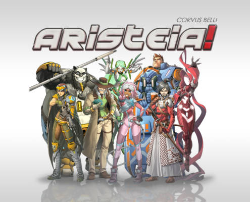 Aristeia - Titelbild Core Box