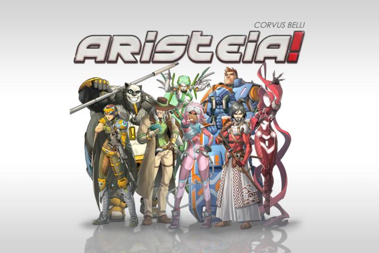 Aristeia - Titelbild Core Box