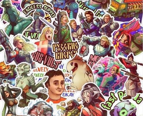 Infinity - Stickers by jail_la_la Vol. 1 - arachNET.de