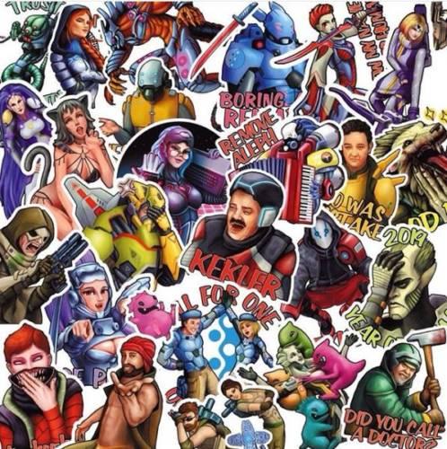 Infinity - Stickers by jail_la_la Vol. 2 - arachNET.de