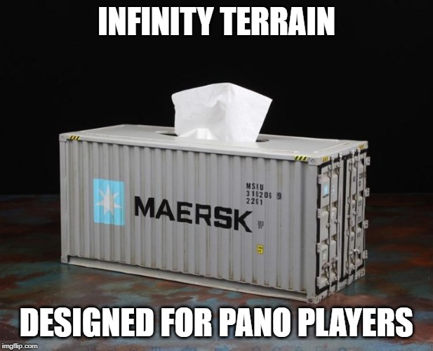 Meme - Infinity terrain for PanO players - arachNET.de