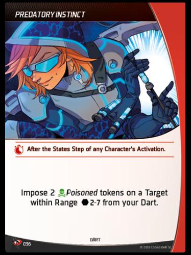 Aristeia - Dart - Predatory Instinct