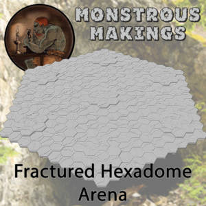 Monstrous Makings - Fractured Hexadome Arena - arachNET.de
