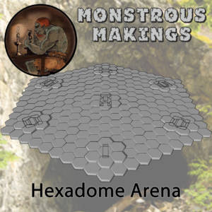 Monstrous Makings - Hexadome Arena - arachNET.de