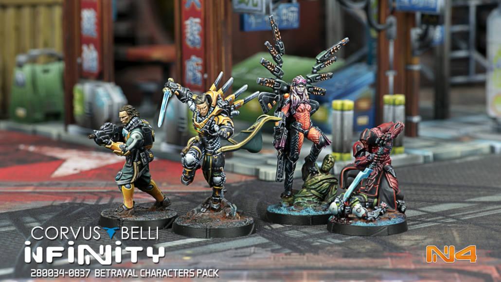 Infinity - Betrayal Characters Pack - arachNET.de