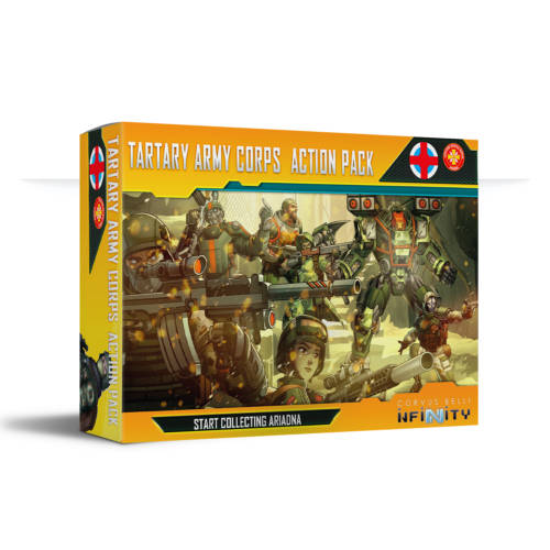 Infinity - Tartary Army Corps Action Pack - arachNET.de