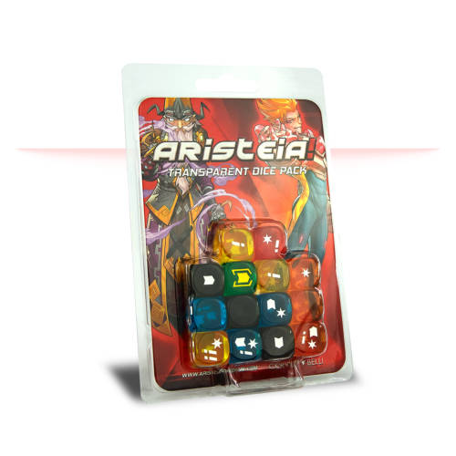 Aristeia - Transparent Dice Pack